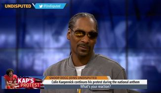 Snoop Dogg is calling Colin Kaepernick a hypocrite for protesting civil rights injustices in the United States while offering praise for late Communist leader Fidel Castro. (Fox Sports)
