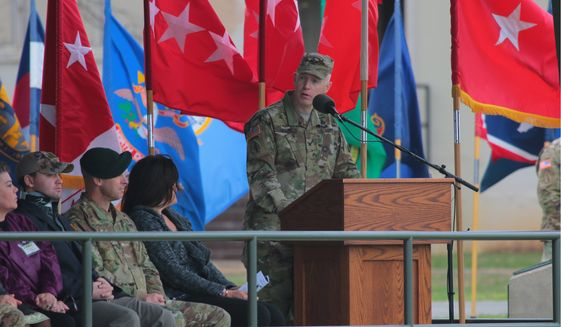 Colonel Kevin C. Leahy is receptive to the complaints of his soldiers about the command structure's micromanagement, but said he allows his forces to figure out how to do the job. (U.S. Army)