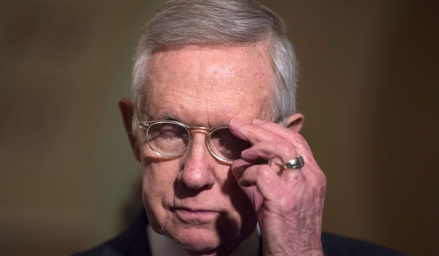 Retiring Sen. Minority Leader Harry Reid (Associated Press)