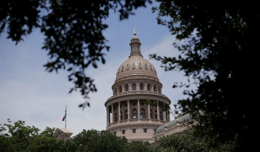 The Texas Legislature adjourns Monday and is not scheduled to meet again until 2019.