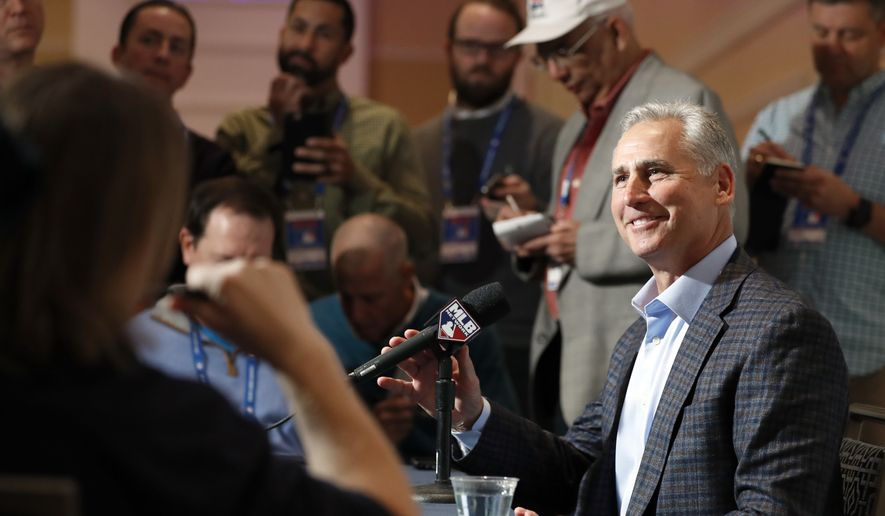 Colorado Rockies manager Bud Black smiles during a media availability at Major League Baseball's winter meetings, Monday, Dec. 5, 2016, in Oxon Hill, Md. (AP Photo/Alex Brandon)