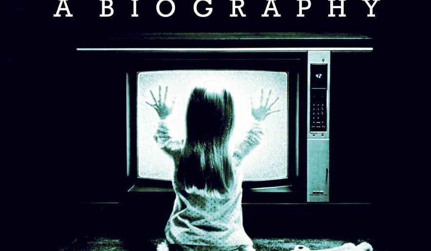 """This cover image released by Thames & Hudson shows, """"Television: A Biography,"""" by David Thomson. (Thames & Hudson via AP)"""