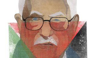 Illustration of Mahmoud Abbas by Linas Garsys/The Washington Times