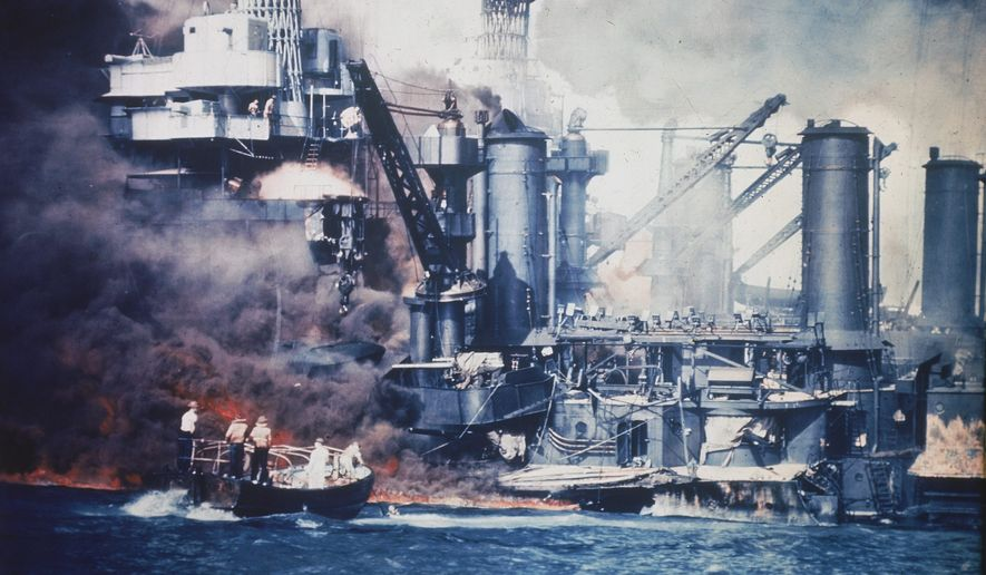 World War II veterans, many nearing the age of 100, will commemorate the 75th anniversary of the Japanese attack on the U.S. naval base at Pearl Harbor, Hawaii, on Wednesday. (Associated Press)