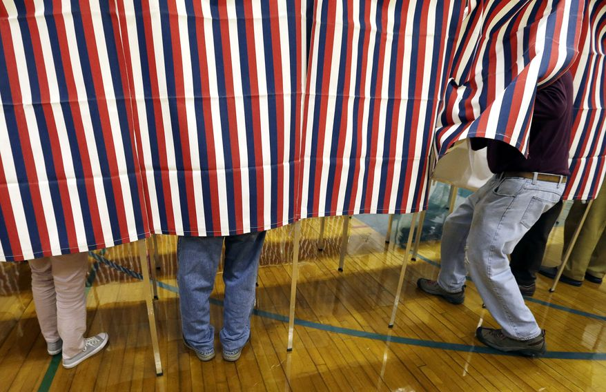 Pollsters made the wrong predictions on the 2016 election and now voters no longer trust the polls says  - a poll. (Associated Press)