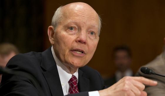 Conservatives had pushed for impeachment, saying John Koskinen cannot be allowed to get away with having misled Congress into the investigation into the IRS tea party targeting. (Associated Press)