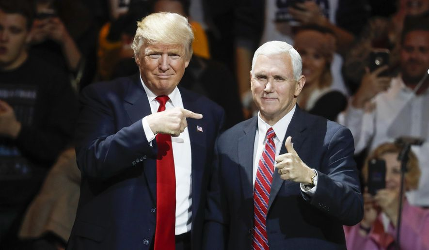 President Trump and Vice President Mike Pence (Associated Press/File)