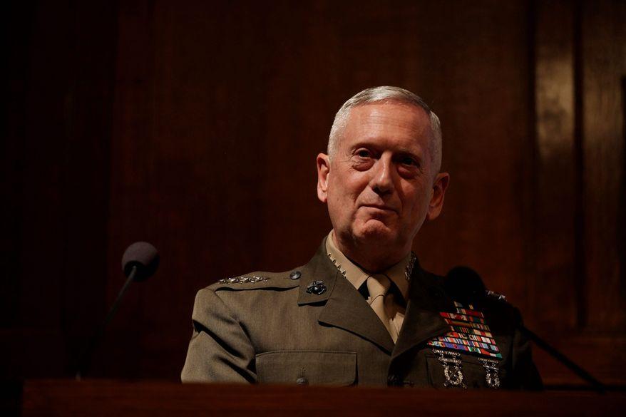 Gen. James N. Mattis,  President-elect Donald Trump's nominee for defense secretary. (Associated Press photographs)