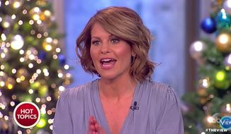 "Candace Cameron Bure announced Thursday that she is leaving ABC's ""The View"" after two seasons. (ABC)"