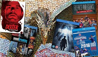Gift ideas for television show connoisseurs include Dexter: The Complete Series, Soundbreaking: Stories from the Cutting Edge of Recorded Music, Game of Thrones: The Complete Seasons 1-6, Freaks and Geeks: The Complete Series, Falling Skies: The Complete Series and 2016 World Series Collector's Edition.