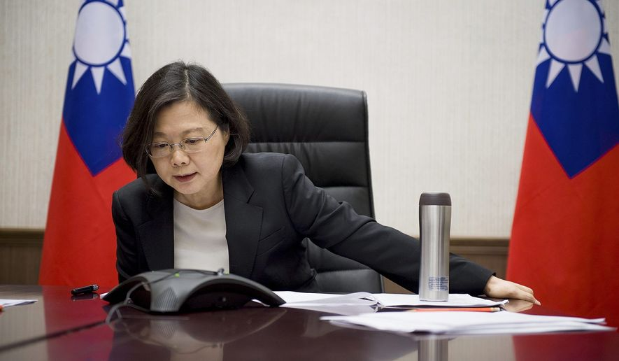 """President-elect Donald Trump having spoken with Taiwan President Tsai Ing-wen, thus going against America's firmly established """"One China"""" policy, is stoking fears that Mr. Trump may apply a """"madman"""" approach in order to intimidate Asian leaders. (Associated Press)"""