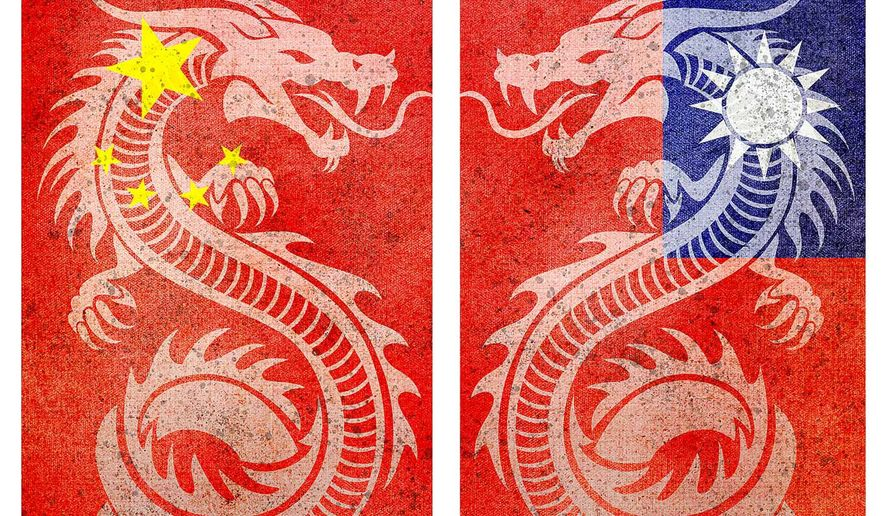 One China, Two Chinas Illustration by Greg Groesch/The Washington Times
