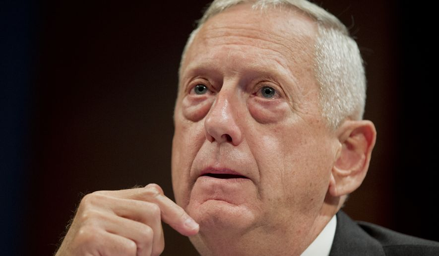 "Retired Marine Corps Gen. James Mattis is nicknamed ""Mad Dog"" for his aggressive approach to killing the enemy and winning battles. (Associated Press)"