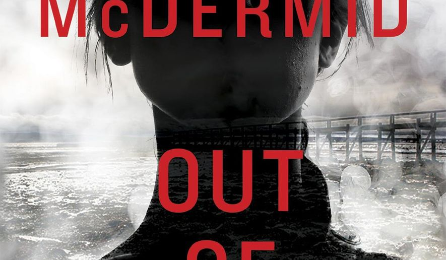 "This book cover image released by Grove Atlantic shows ""Out of Bounds,"" a novel by Val McDermid. (Grove Atlantic via AP)"