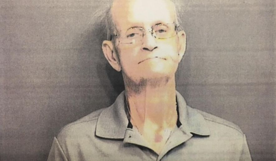 This undated image provided by the Hamilton Police Department shows Lester Parker. Hamilton Ohio authorities on Monday, Dec. 12, 2016, said they've arrested Parker on charges of murder and aggravated arson in the house blaze that led to a firefighter's death nearly one year ago. (Hamilton Police Department via AP)