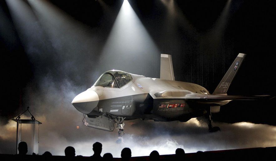 The Lockheed Martin F-35 Joint Strike Fighter. (Associated Press/File)