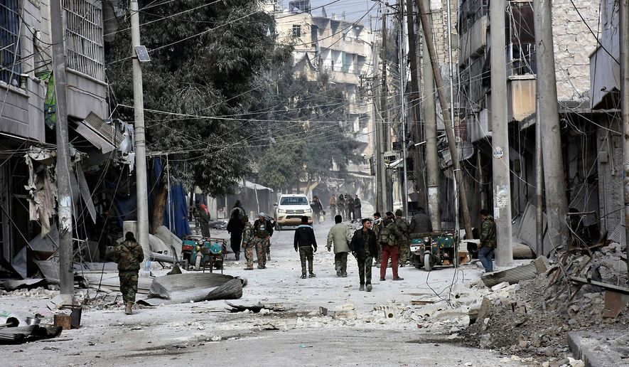 After the fall of Aleppo, Syrian President Bashar Assad intends to target the northwestern city of Idlib and regain control of main land transportation links. (Associated Press)