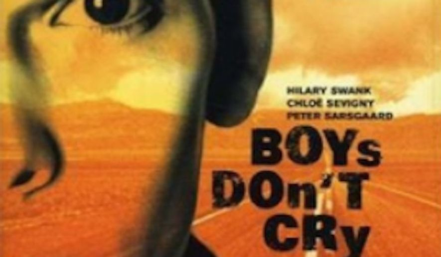 "Students at Reed College in Portland, Oregon, protested lesbian film director Kimberly Peirce during a recent screening of her groundbreaking 1999 film ""Boys Don't Cry,"" accusing her of profiting off the plights of trans people. (Fox Searchlight)"