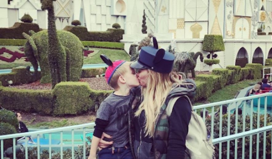 Hilary Duff is firing back at critics who claimed a photo of her kissing her 4-year-old son on the lips is inappropriate. (Instagram/@hilaryduff)