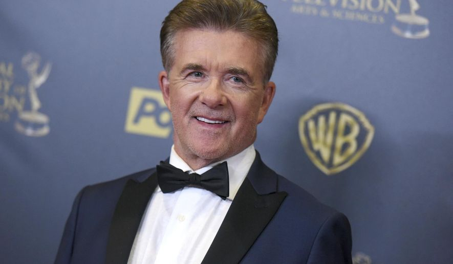 In this Sunday, April 26, 2015 file photo, Alan Thicke poses in the pressroom at the 42nd annual Daytime Emmy Awards at Warner Bros. Studios in Burbank, Calif. On Tuesday, Dec. 13, 2016, a publicist said the actor has died at the age of 69. (Photo by Richard Shotwell/Invision/AP)