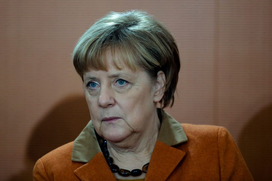 Angela Merkel will run for her fourth term as chancellor next fall, but her once-enduring popularity has waned since she decided to accept 1 million refugees into Germany. (Associated Press)