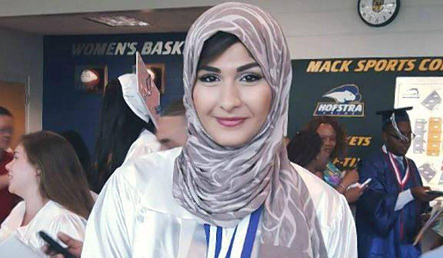 Yasmin Seweid, 18, was charged with filing a false police report after confessing that she made up the story about the Dec. 1 attack, according to the New York Daily News and CBS2. (Photo courtesy of Facebook).