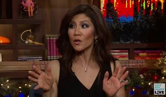 """CBS host Julie Chen said Tuesday that she believed """"every word"""" in a recent gossip report that claimed Barbara Walters thinks ABC executives are ruining """"The View."""" (Bravo)"""