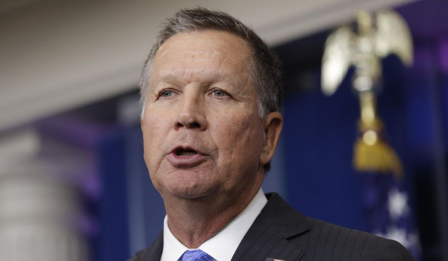 Ohio Gov. John Kasich (Associated Press/File)