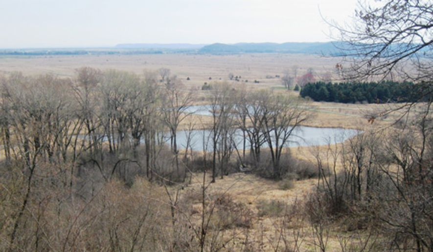 Sauk Prairie State Recreation Area. A plan approved by the Wisconsin Dept. of Natural Resources calls for a model-rocket range at the site. Photo by the Wisconsin Department of Natural Resources. Accessed Dec. 14, 2016. [http://dnr.wi.gov/topic/parks/name/saukprairie/] **FILE**