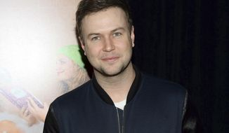 """In this Dec. 8, 2015 file photo, Taran Killam attends the premiere of """"Sisters"""" in New York. Killam will play King George III in the musical """"Hamilton,"""" taking over from Rory O'Malley on Jan. 17. (Photo by Evan Agostini/Invision/AP, File)"""