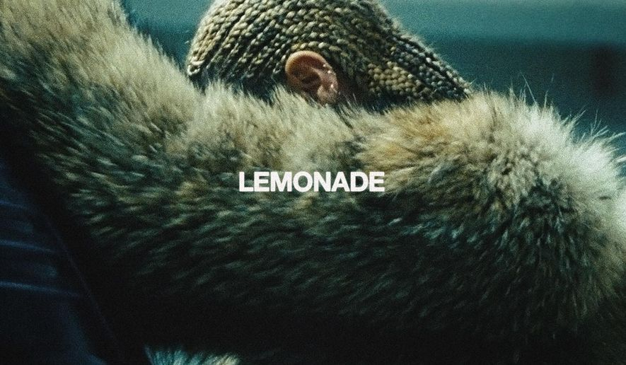 "This cover image released by Columbia Records shows ""Lemonade,"" by Beyonce. (Columbia Records via AP)"