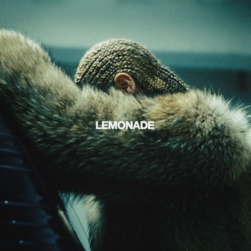 """This cover image released by Columbia Records shows """"Lemonade,"""" by Beyonce. (Columbia Records via AP)"""