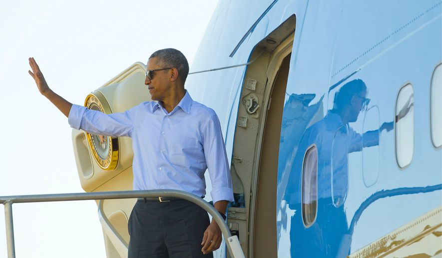 President Obama and the first family's personal travel expenses have totaled more than $85 million, according to Judicial Watch. (Associated Press)