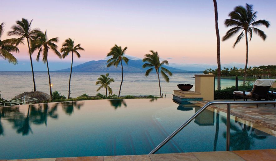 Maui remains a classic for winter getaway vacations. A new Four Seasons Wailea remodel adds to those classic sensibilities -- and the water-setting beats back frigid temps on the mainland. (Photo courtesy of Four Seasons Maui)
