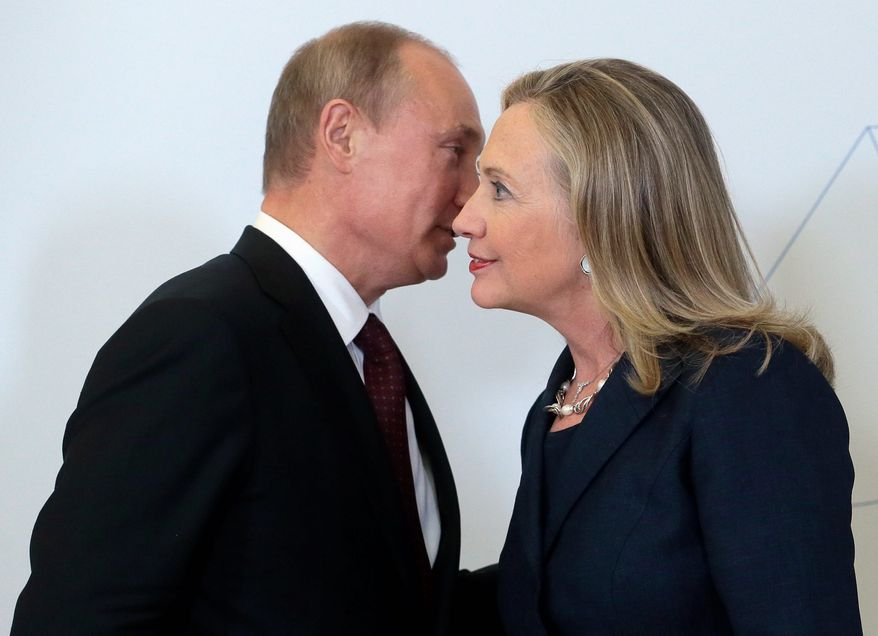 Hillary Clinton is accused of direct involvement in suspected corruption involving a 2010 uranium deal with Russia. (Associated Press/File)