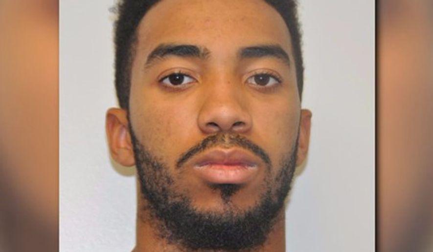 Ryan Salandy, a Maryland man sentenced to 18 years in a fatal hit-and-run. Mug shot photo via WUSA-TV. [http://www.wusa9.com/news/local/christian-rapper-sentenced-after-fatal-hit-and-run/327590935]