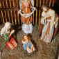 Atheists decried a Nativity in the Iowa Capitol, and installed a secular display near it. (Associated Press)