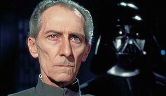 "Grand Moff Wilhuff Tarkin (Peter Cushing), also known as Governor Tarkin, is a fictional character in the Star Wars universe, primarily portrayed by Peter Cushing. The character has been called ""one of the most formidable villains in Star Wars history."