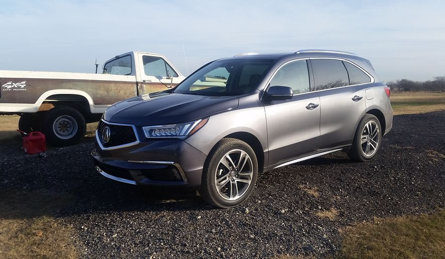 Long a fan of the Acura brand, my recent week driving the 2017 Acura MDX proved no different. It is a midsize SUV and it rides and drives with comfort and ease. Said to have a sportier vibe than most of the competition, this comes in part due to the new addition in 2017 of cleaner lines and a new grille. (Photo by Rita Cook).