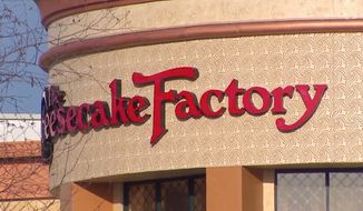 """The Cheesecake Factory has apologized for a """"misunderstanding"""" that led to several law enforcement officers being refused service at a Tacoma, Washington, restaurant. (KOMO)"""