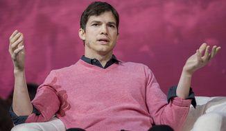 Actor Ashton Kutcher (AP Photo)