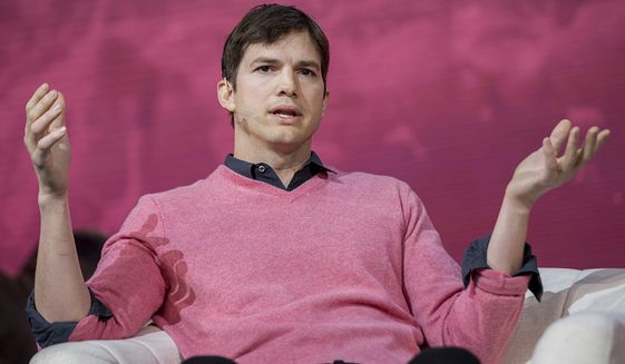 Actor Ashton Kutcher (AP Photo)