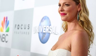 Katherine Heigl Knocked UP, The Ugly Truth, Life As We Know It, Killers, 27 Dresses, Home Sweet Hell (AP Photo)