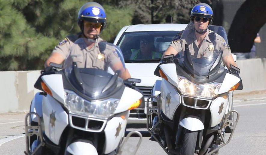 "A still shot from the 2017 action-comedy ""CHiPs,"" loosely based on the 1970s TV drama by the same name. Photo credit: Tical/JFXimages/Wenn.com via IMDb.com"