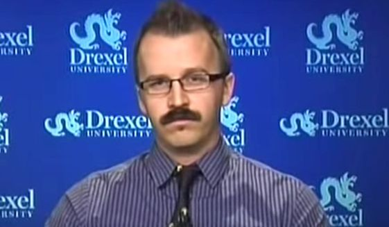 "George Ciccariello-Maher, associate professor of political science at Drexel University, tweeted on Dec. 25, 2016, that he wished for a ""white genocide."" (MSNBC screenshot)"