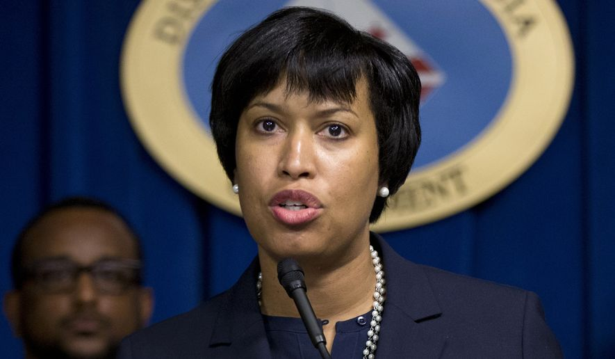 "A spokesman for D.C. Mayor Muriel Bowser said the mayor isn't worried about the new council and is focusing on ""building on the administration's legislative successes."" (Associated Press) ** FILE **"