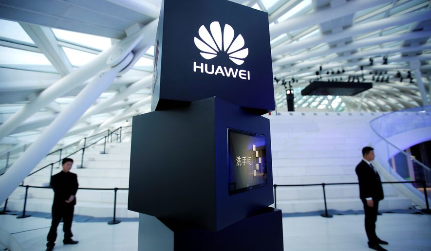 Three Republican members of Congress are urging the Pentagon to investigate the security risks to American facilities and military forces in South Korea posed by a Chinese telecommunications company Huawei. (Associated Press)