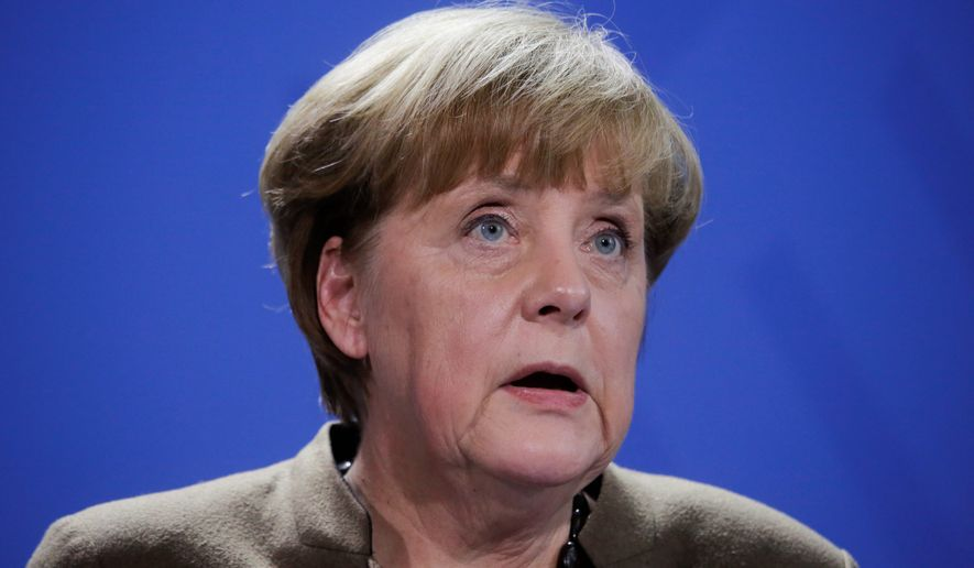 German Chancellor Angela Merkel's Christian Democrats have shifted course since the Berlin terrorist attack, but the rival Alternative for Germany party is gaining steam. (Associated Press)