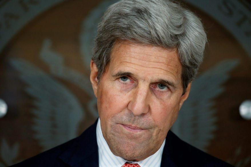 Secretary of State John Kerry (Associated Press)