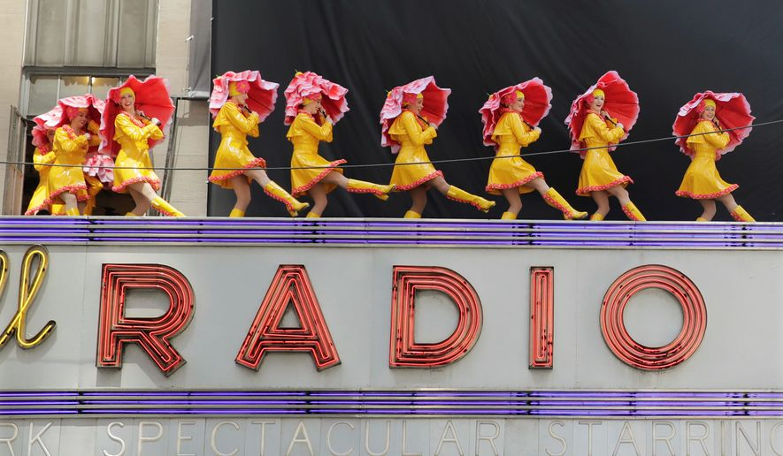 The Radio City Rockettes have more than enough dancers who have volunteered to perform at Donald Trump's presidential inauguration ceremony, but one of them has sparked a social media maelstrom by expressing her opposition to the idea. (Associated Press)